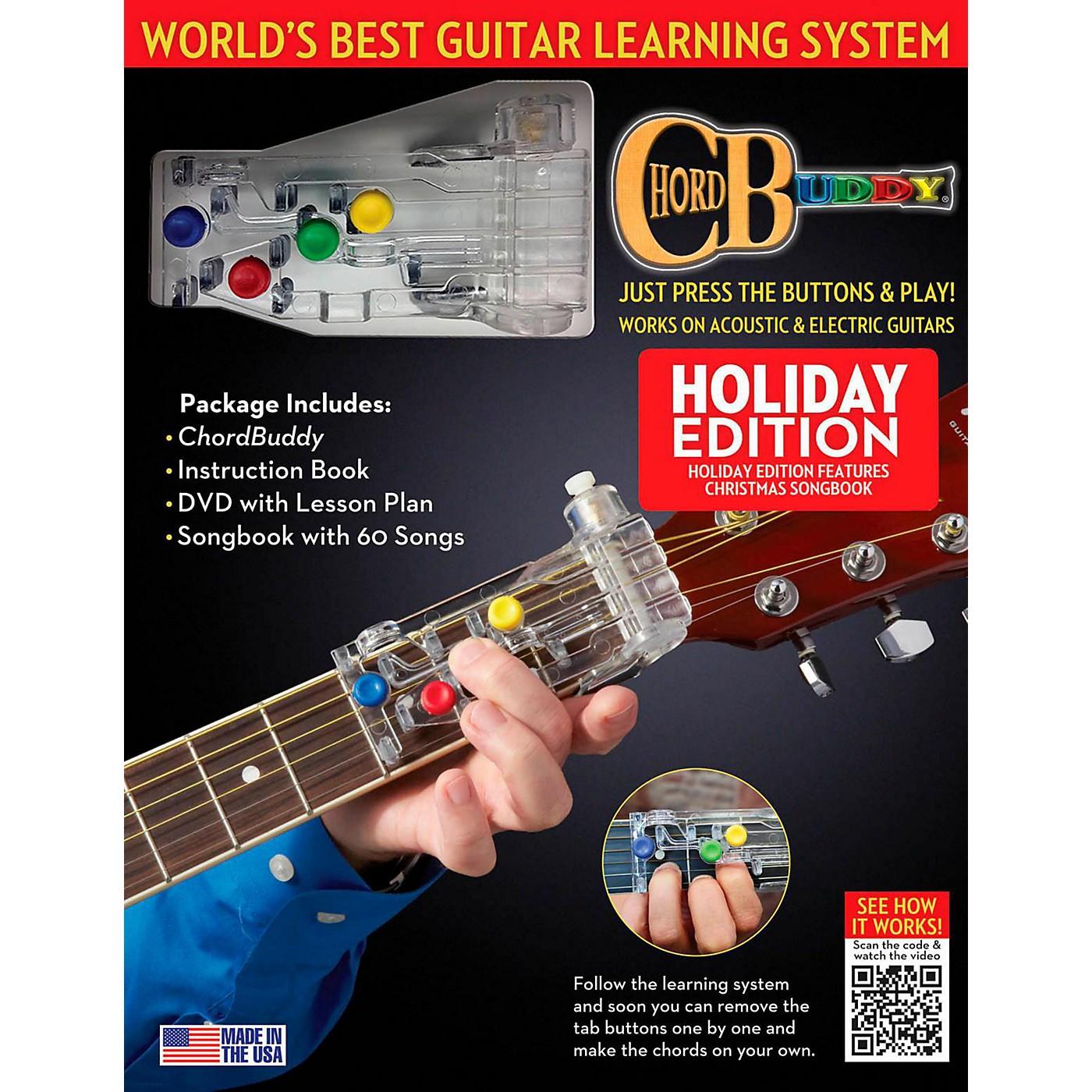 Hal Leonard ChordBuddy Holiday Guitar Learning System thumbnail