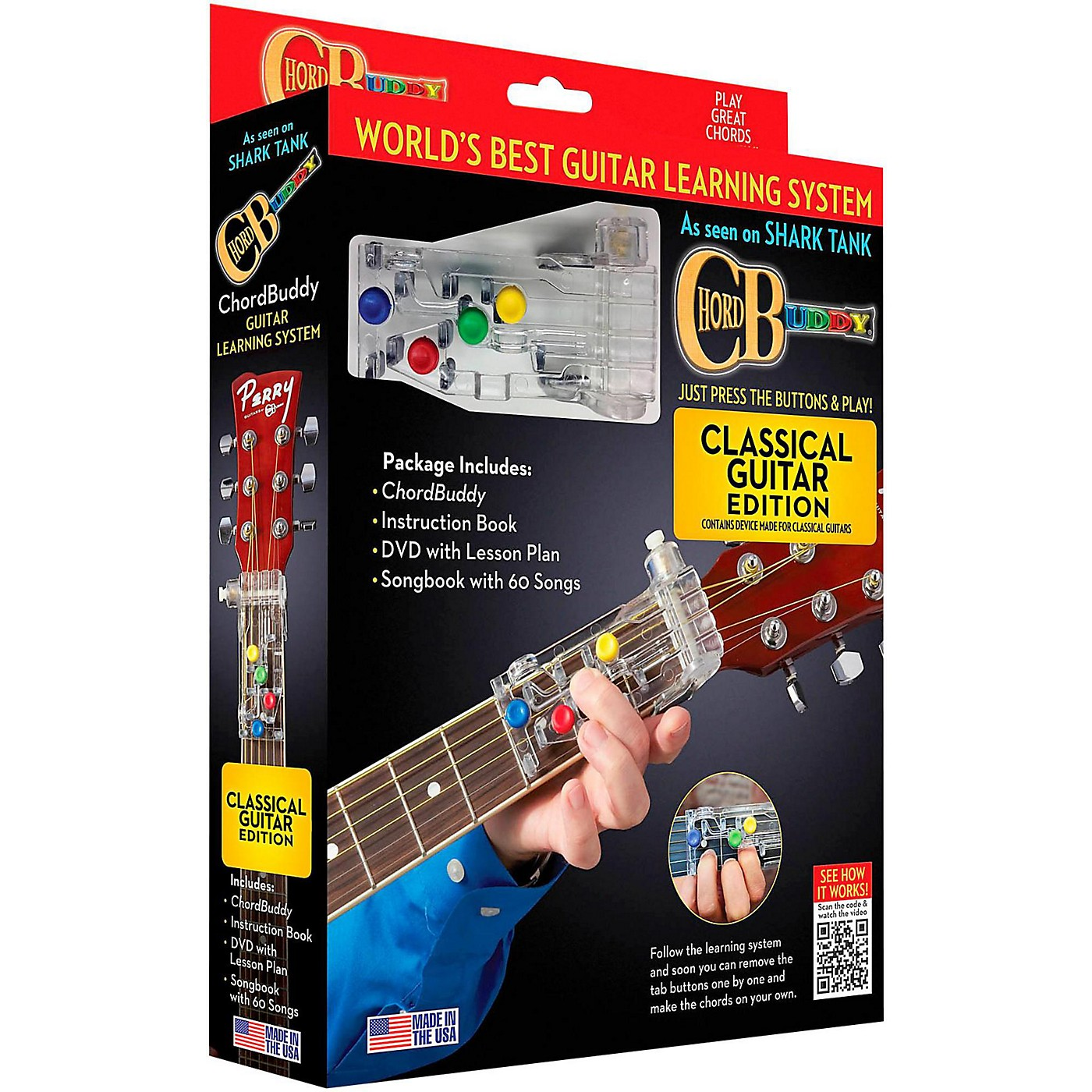 Hal Leonard Chordbuddy Classical Guitar Learning System thumbnail