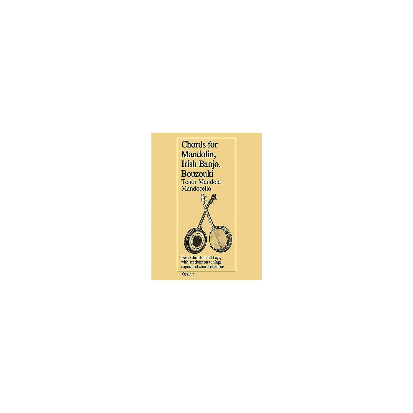 Music Sales Chords for Mandolin, Irish Banjo, Bouzouki, Tenor Mandola, Mandocello Music Sales America Series thumbnail