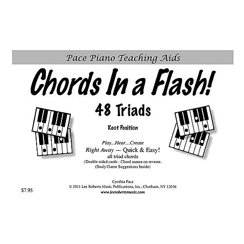 Lee Roberts Chords in a Flash! (48 Triads for Piano Revised Edition) Pace Piano Education Series by Cynthia Pace thumbnail