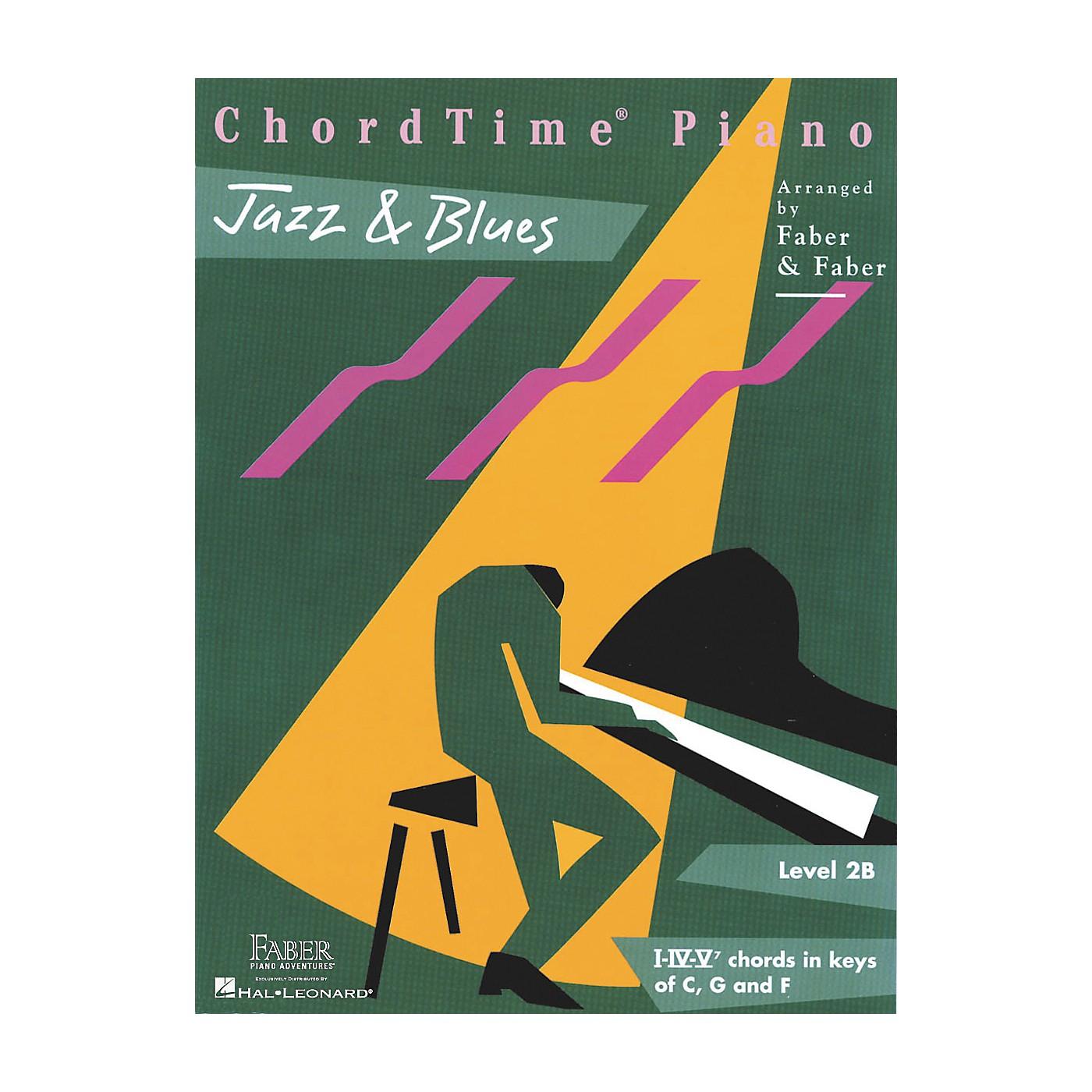 Faber Piano Adventures Chordtime Jazz & Blues L2B thumbnail