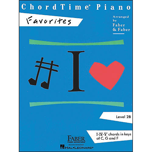 Faber Piano Adventures Chordtime Piano Favorites Level 2B - Faber Piano thumbnail