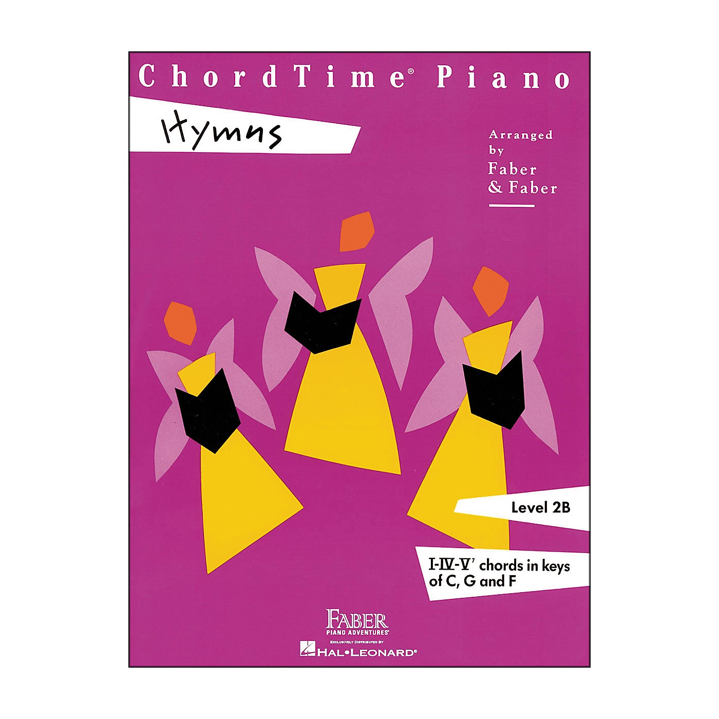 Faber Piano Adventures Chordtime Piano Hymns Book Level 2B Chords In Keys C, G, And F - Faber Piano thumbnail