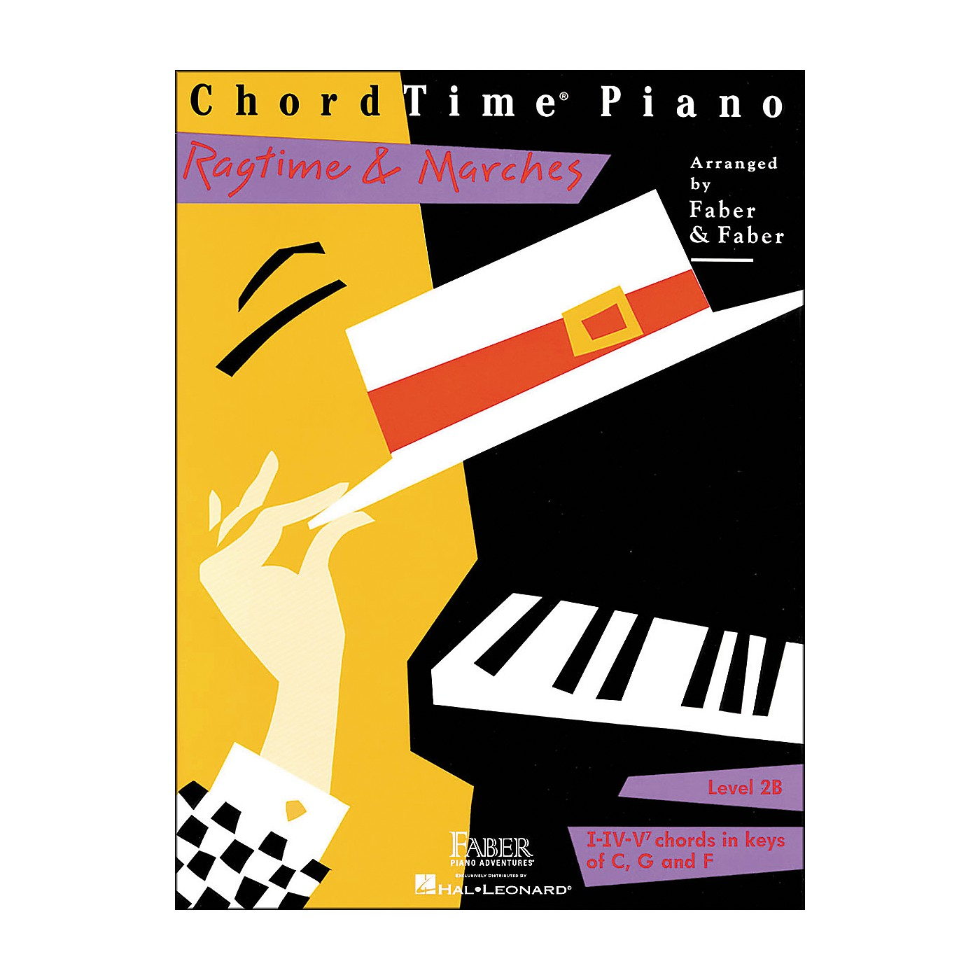 Faber Piano Adventures Chordtime Piano Ragtime & Marches Level 2B Book - Faber Piano thumbnail