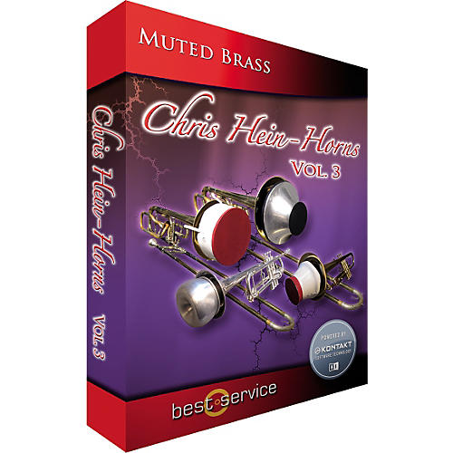 Best Service Chria Hein Horns Vol. 3 Muted Brass Sample Library thumbnail
