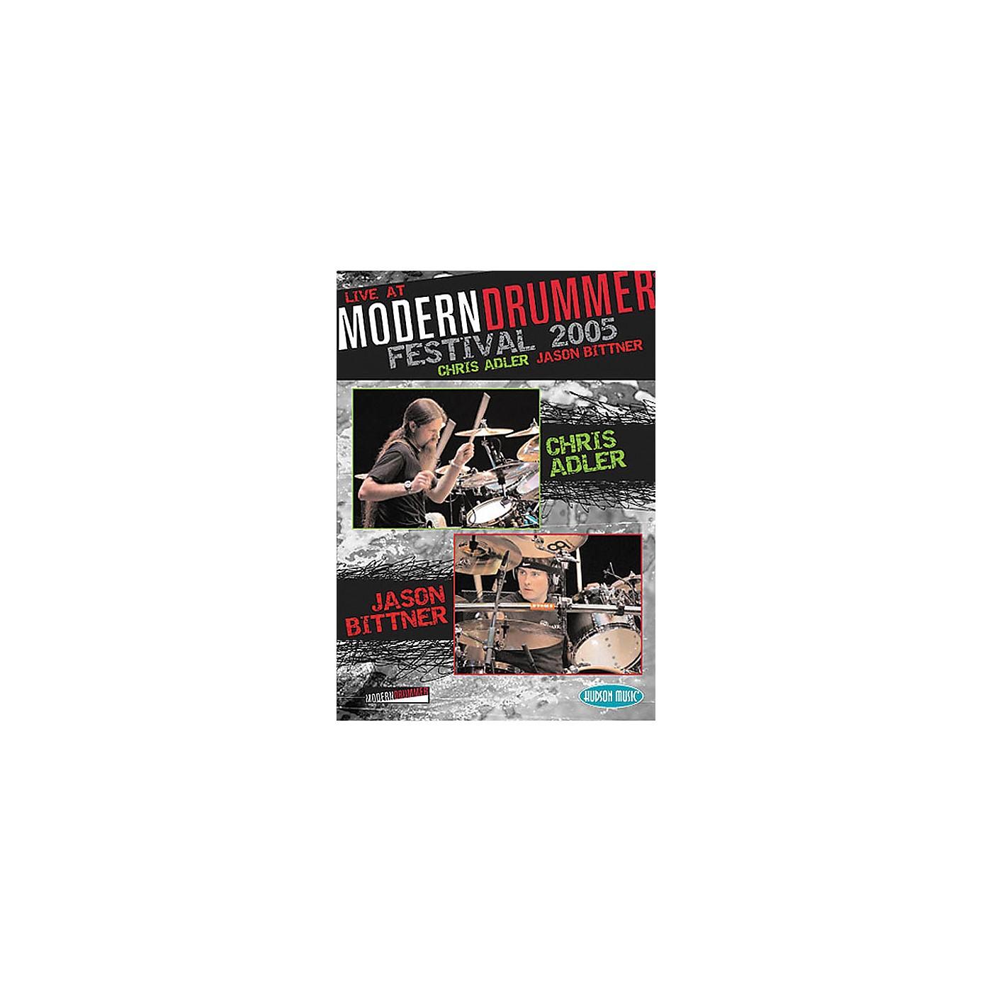 Hudson Music Chris Adler and Jason Bittner - Live at Modern Drummer Festival 2005 DVD thumbnail