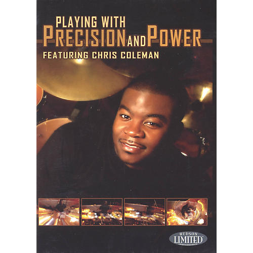 Hudson Music Chris Coleman Playing with Precision and Power DVD thumbnail