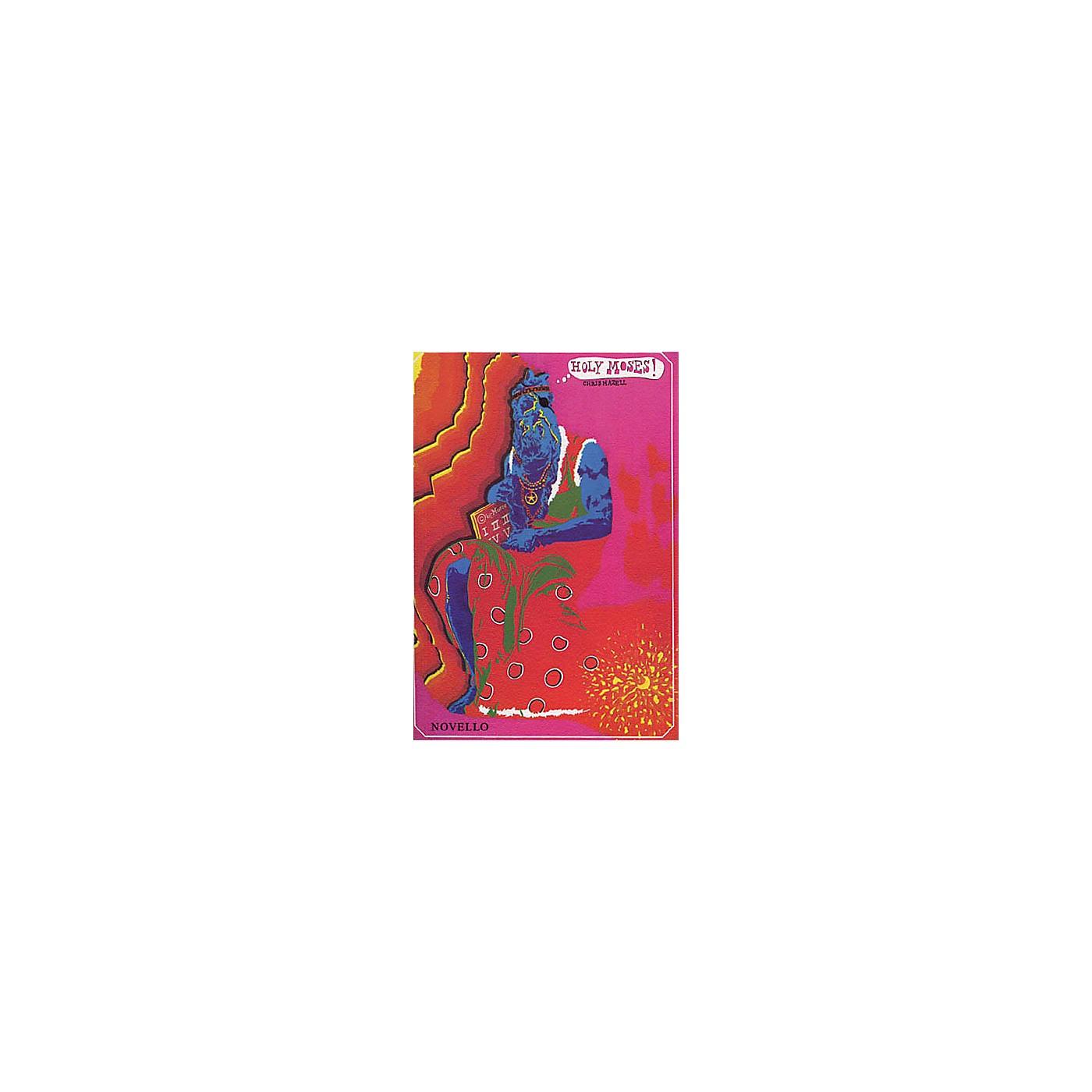 Music Sales Chris Hazell: Holy Moses! UNISON MIXED CHORUS thumbnail