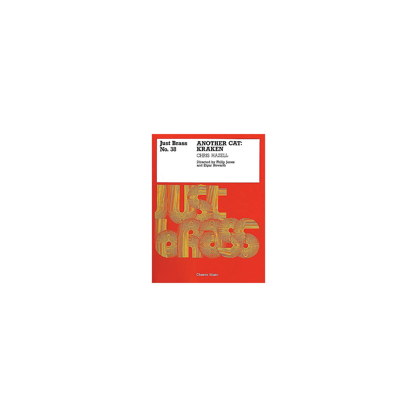 Music Sales Chris Hazell: Kraken - Another Cat (Just Brass No.38) Music Sales America Series thumbnail
