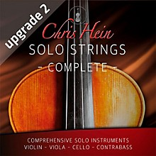 Best Service Chris Hein Solo Strings Complete Upgrade from Viola and Violin