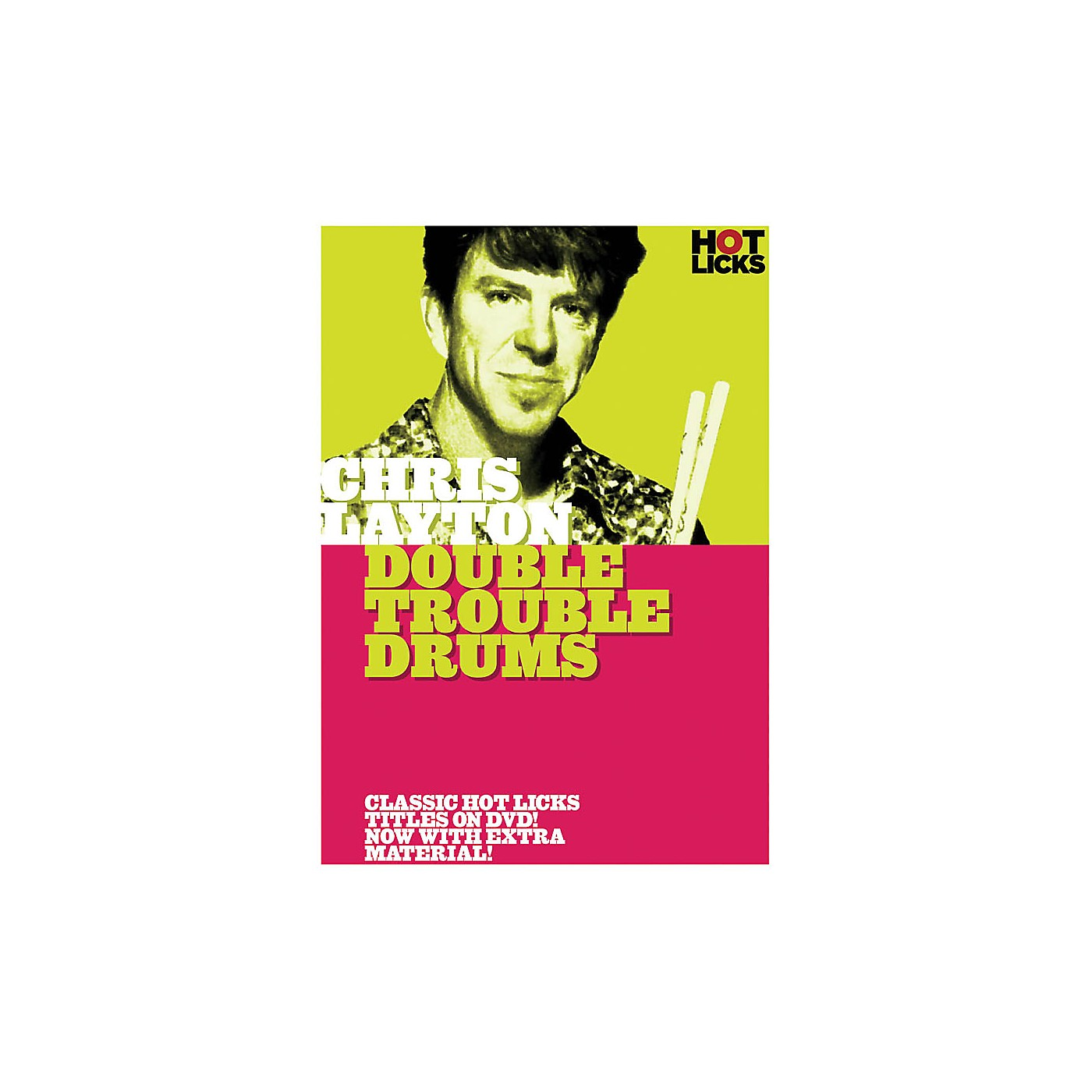 Music Sales Chris Layton - Double Trouble Drums Music Sales America Series DVD Performed by Chris Layton thumbnail