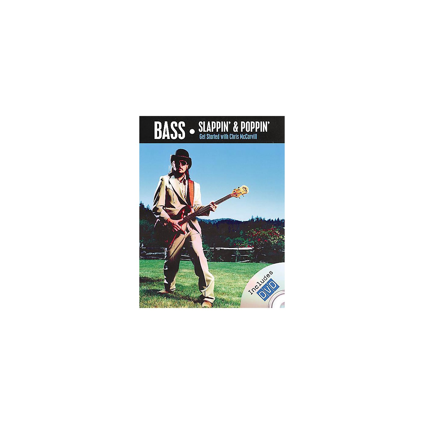 Rock House Chris McCarvill - Bass Slappin' and Poppin' Music Sales America Softcover with DVD by Chris McCarvill thumbnail