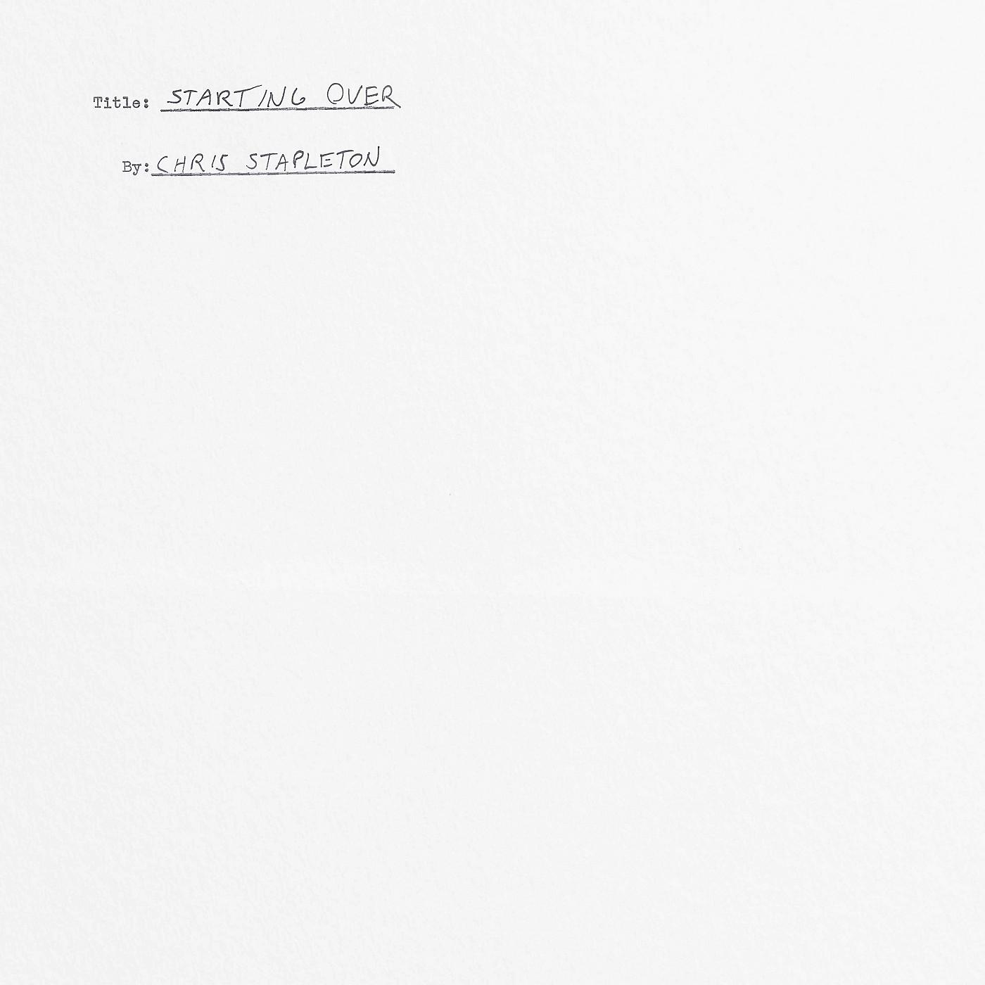 Universal Music Group Chris Stapleton - Starting Over [2 LP] thumbnail