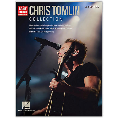 Hal Leonard Chris Tomlin Collection - 2nd Edition Easy Guitar Series Softcover Performed by Chris Tomlin thumbnail