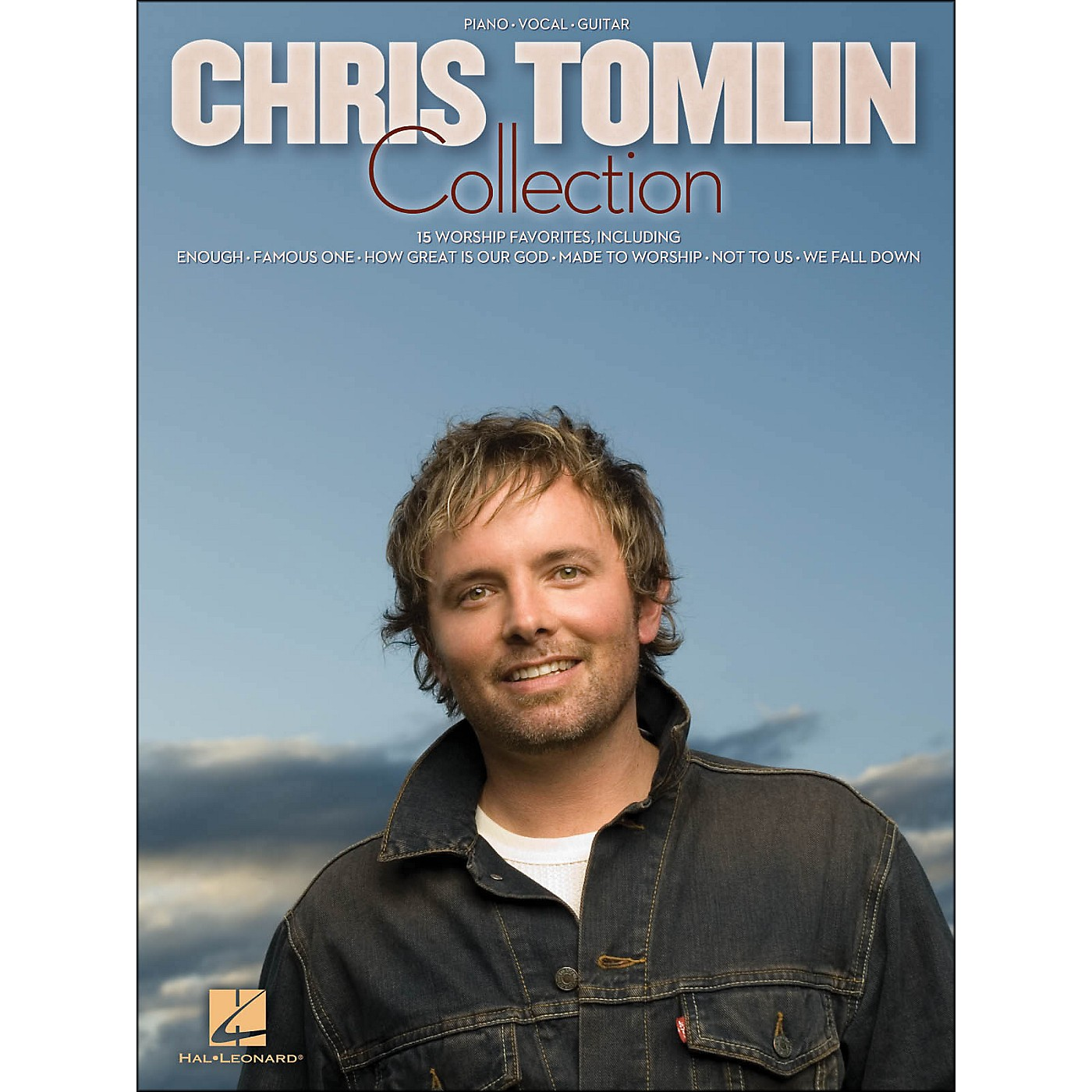 Hal Leonard Chris Tomlin Collection arranged for piano, vocal, and guitar (P/V/G) thumbnail
