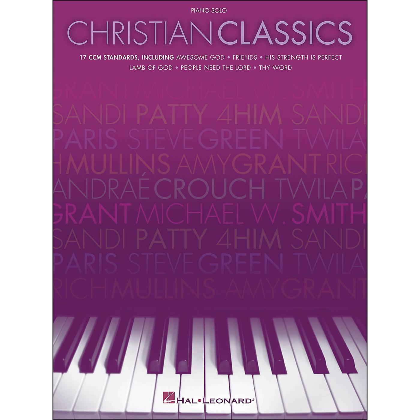 Hal Leonard Christian Classics Piano Solo thumbnail
