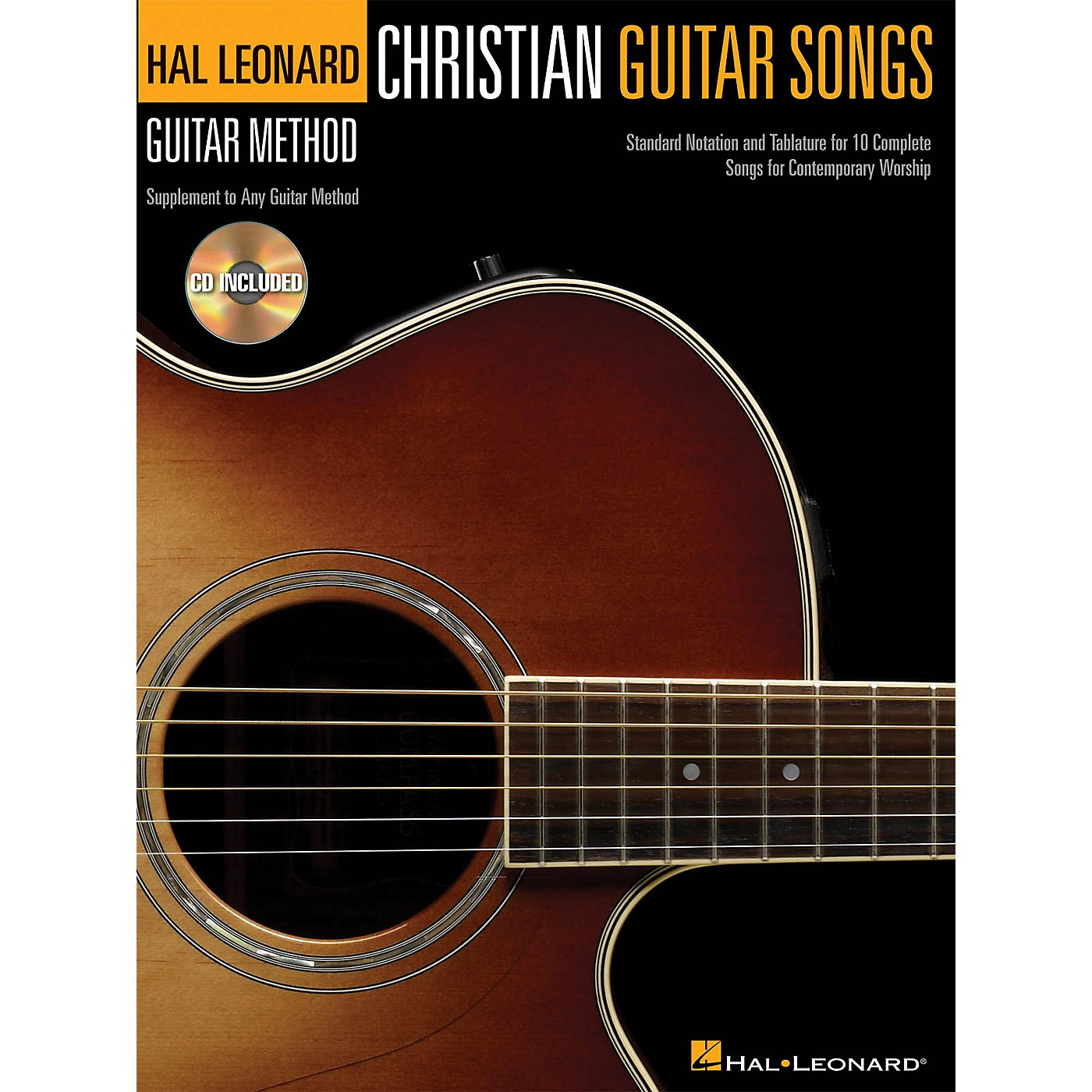 Hal Leonard Christian Guitar Songs (Hal Leonard Guitar Method) Guitar Method Series Softcover with CD by Various thumbnail
