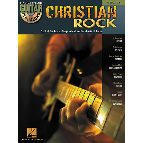 Hal Leonard Christian Rock Guitar Play-Along Volume 71 Book/CD thumbnail