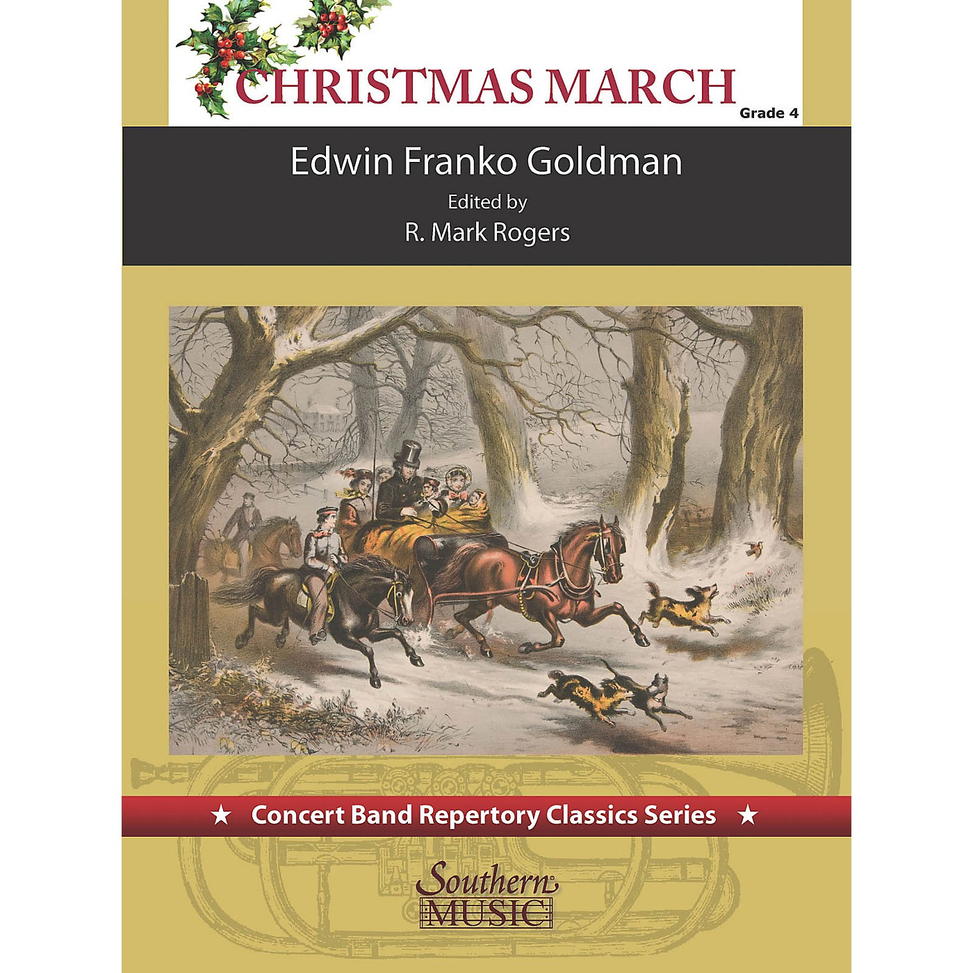 Southern Christimas March (for Concert Band) Concert Band Level 4 thumbnail