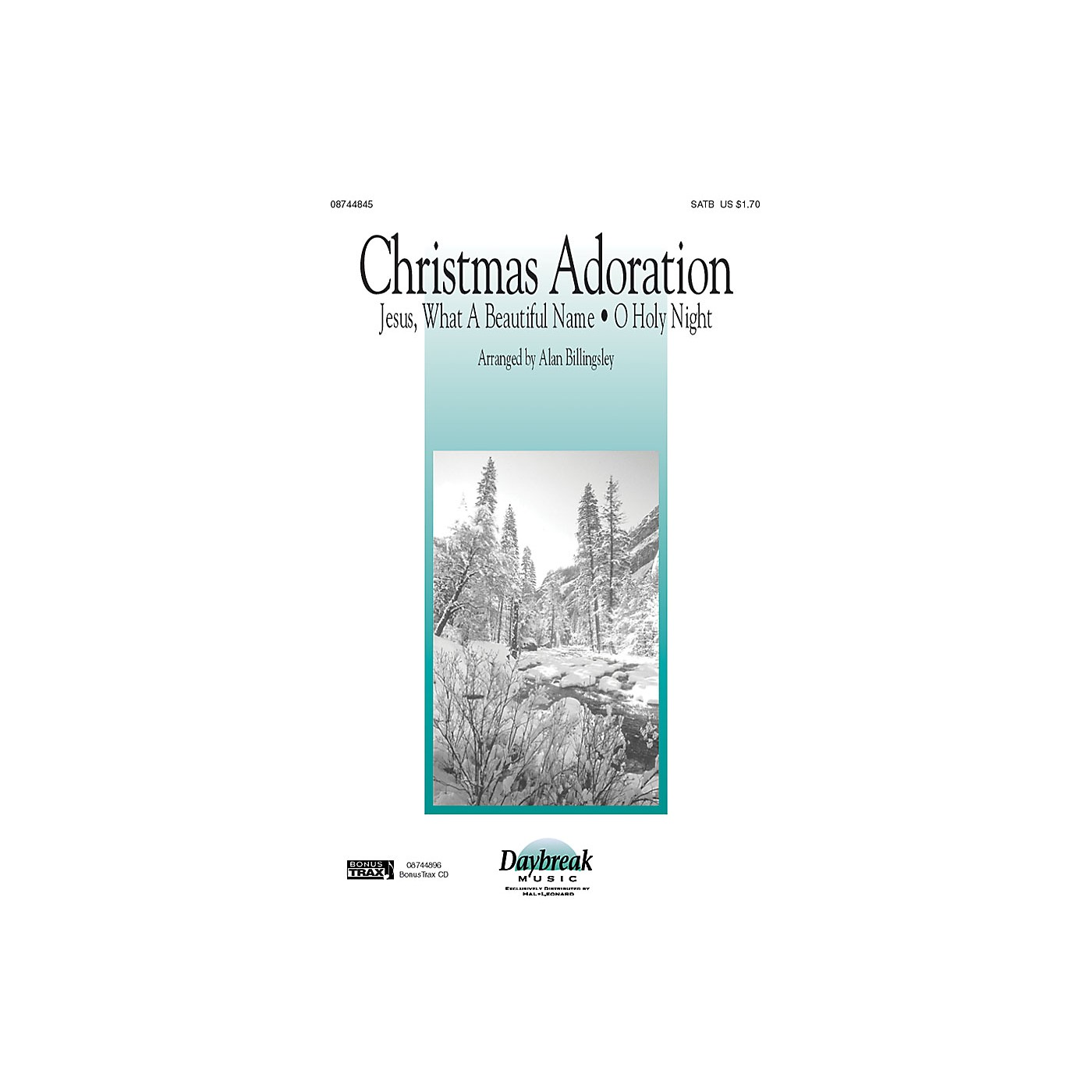 Daybreak Music Christmas Adoration SATB arranged by Alan Billingsley thumbnail
