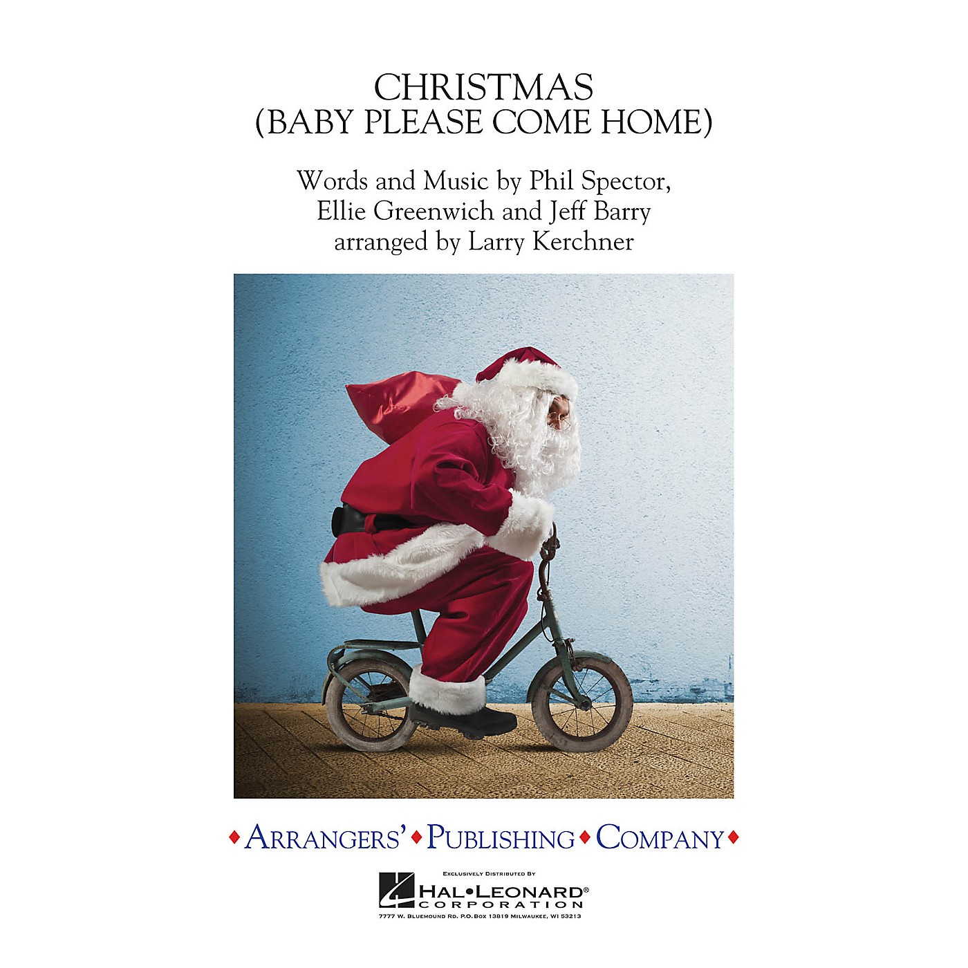 Arrangers Christmas (Baby Please Come Home) Concert Band Level 3 by Mariah Carey Arranged by Larry Kerchner thumbnail