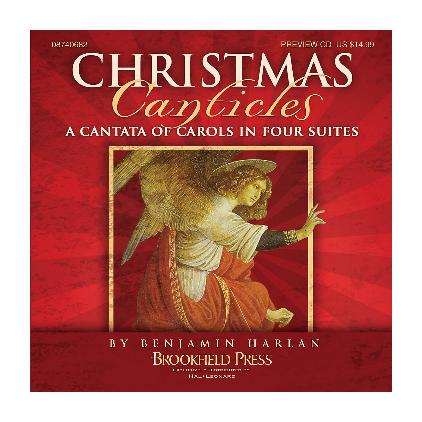 Brookfield Christmas Canticles (A Cantata of Carols in Four Suites) PREV CD arranged by Benjamin Harlan thumbnail