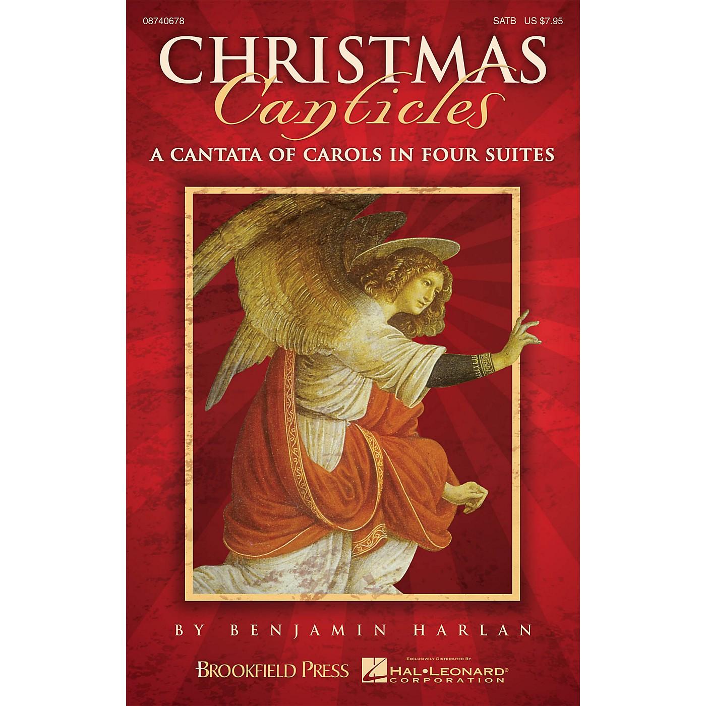 Brookfield Christmas Canticles (SATB) SATB arranged by Benjamin Harlan thumbnail