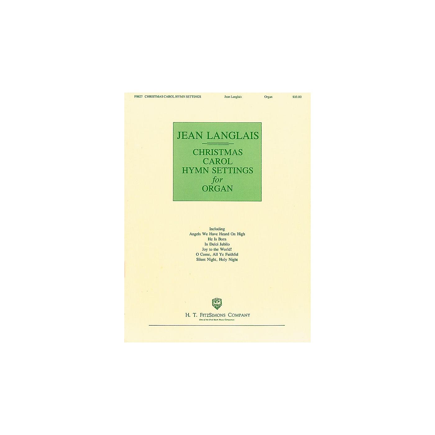 H.T. FitzSimons Company Christmas Carol Hymn Settings for Organ (Organ) thumbnail