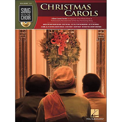 Hal Leonard Christmas Carols - Sing with The Choir Series Vol. 13 Book/CD thumbnail