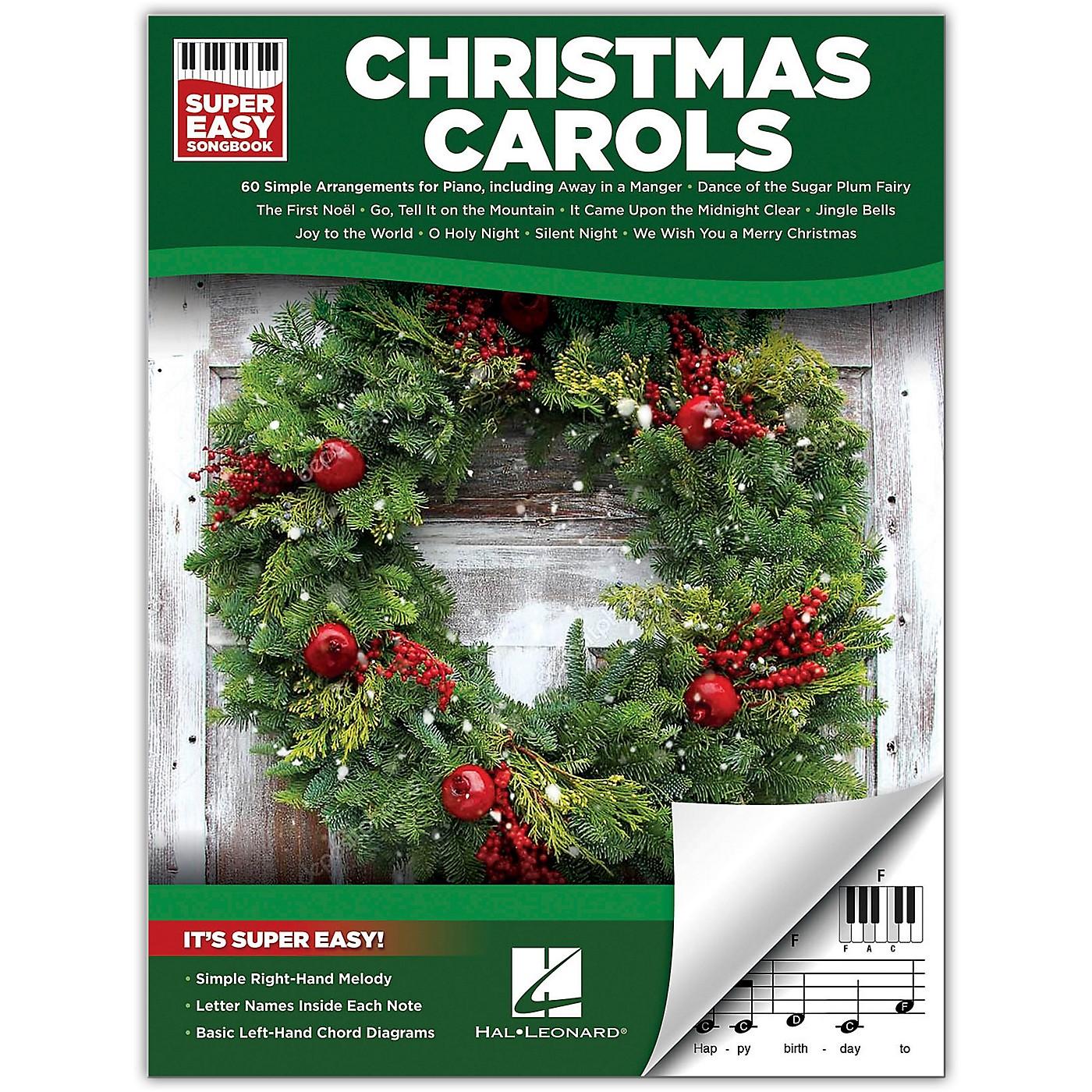 Hal Leonard Christmas Carols - Super Easy Songbook thumbnail