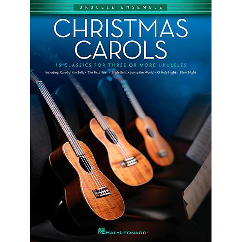 Hal Leonard Christmas Carols - Ukulele Ensemble Series Intermediate thumbnail