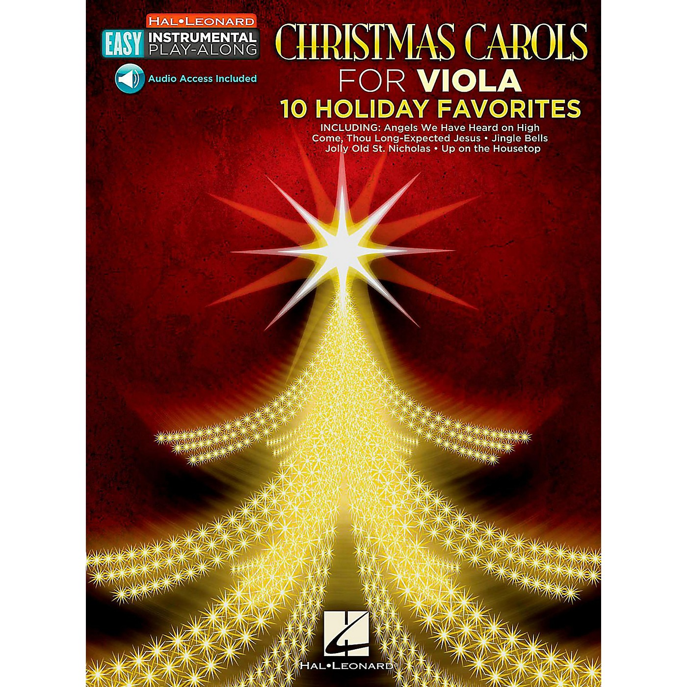 Hal Leonard Christmas Carols - Viola - Easy Instrumental Play-Along (Audio Online) thumbnail