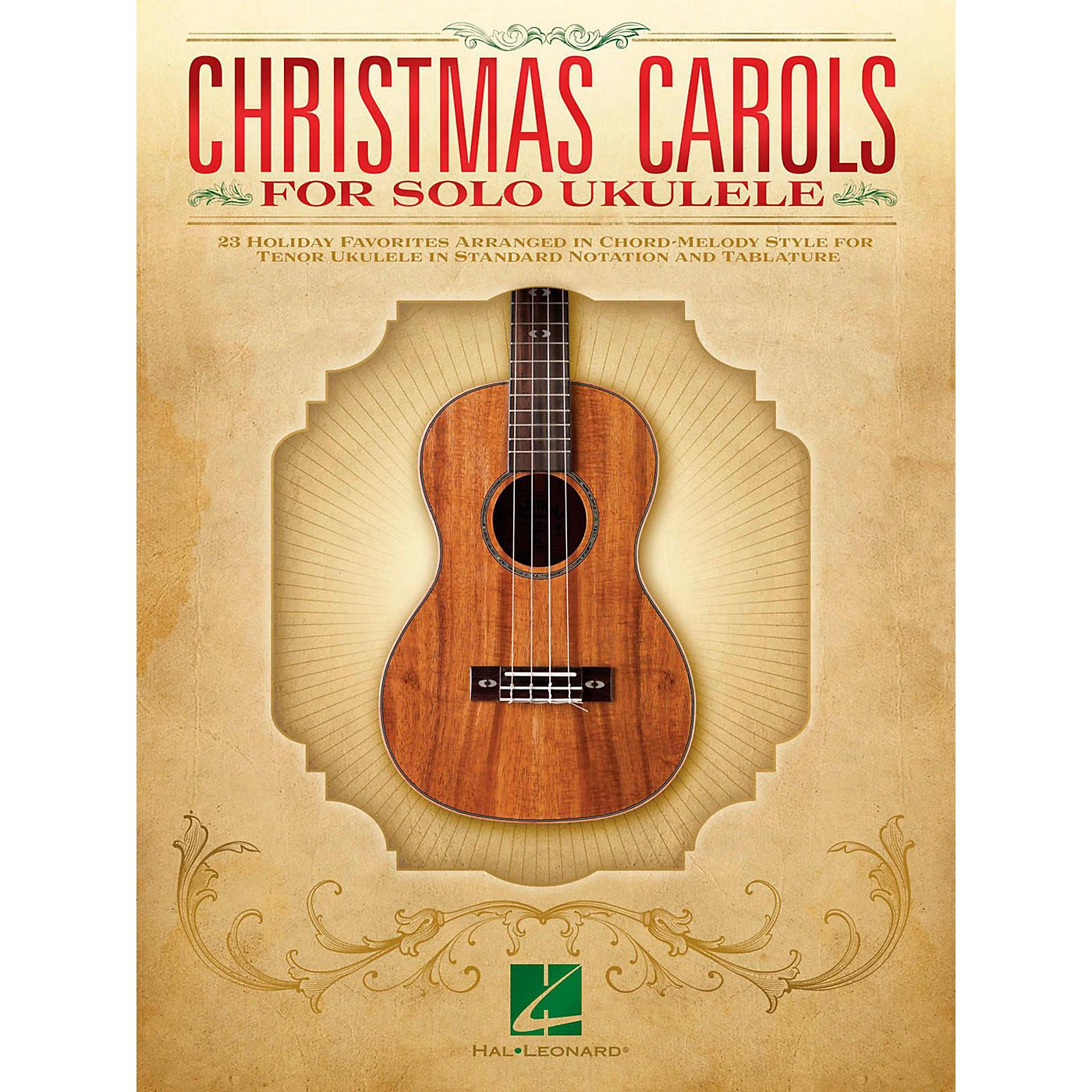 Hal Leonard Christmas Carols For Solo Ukulele - 23 Favorites Arranged In Chord-Melody Style For Tenor Uke thumbnail