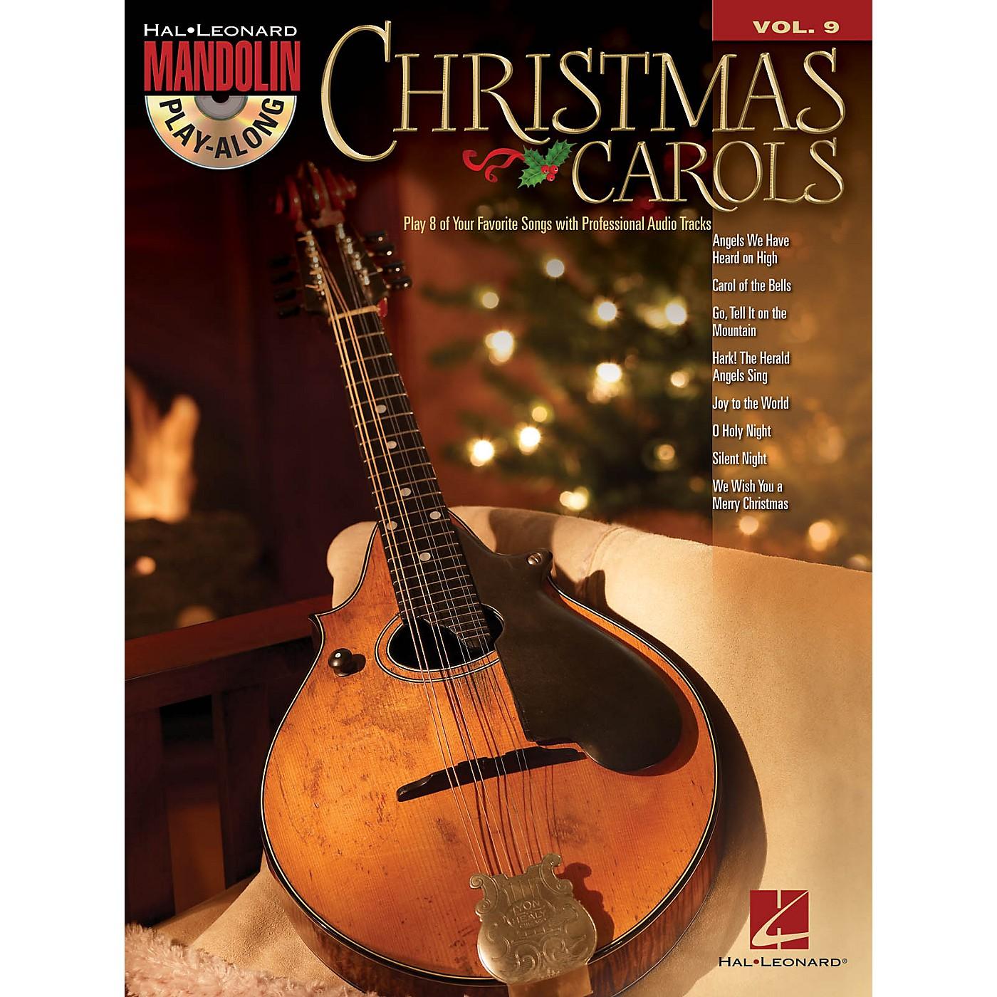 Hal Leonard Christmas Carols (Mandolin Play-Along Volume 9) Mandolin Play-Along Series Softcover with CD thumbnail
