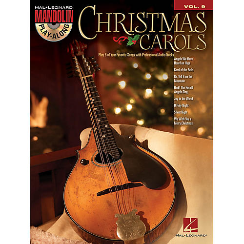 Hal Leonard Christmas Carols (Mandolin Play-Along Volume 9) Mandolin Play-Along Series Softcover with CD thumbnail