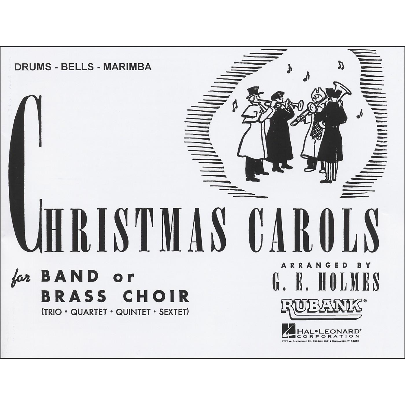 Hal Leonard Christmas Carols for Band Or Brass Choir Drums, Bells, Marimba thumbnail