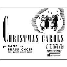 Hal Leonard Christmas Carols for Band Or Brass Choir Third Part F Horn