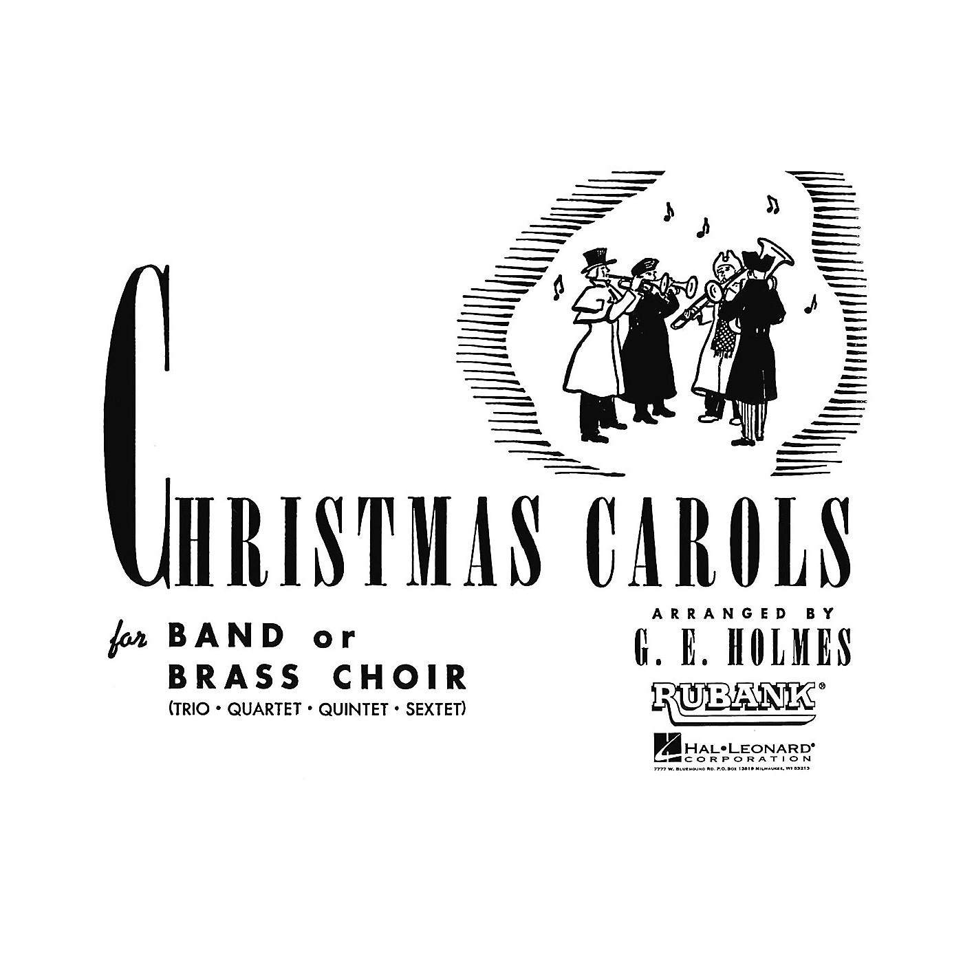 Rubank Publications Christmas Carols for Band or Brass Choir (1st & 2nd Eb Horns) Concert Band thumbnail
