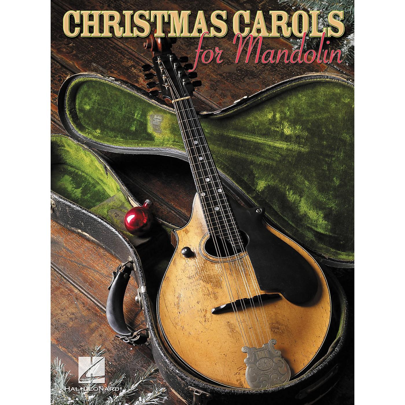 Hal Leonard Christmas Carols for Mandolin (Book) thumbnail