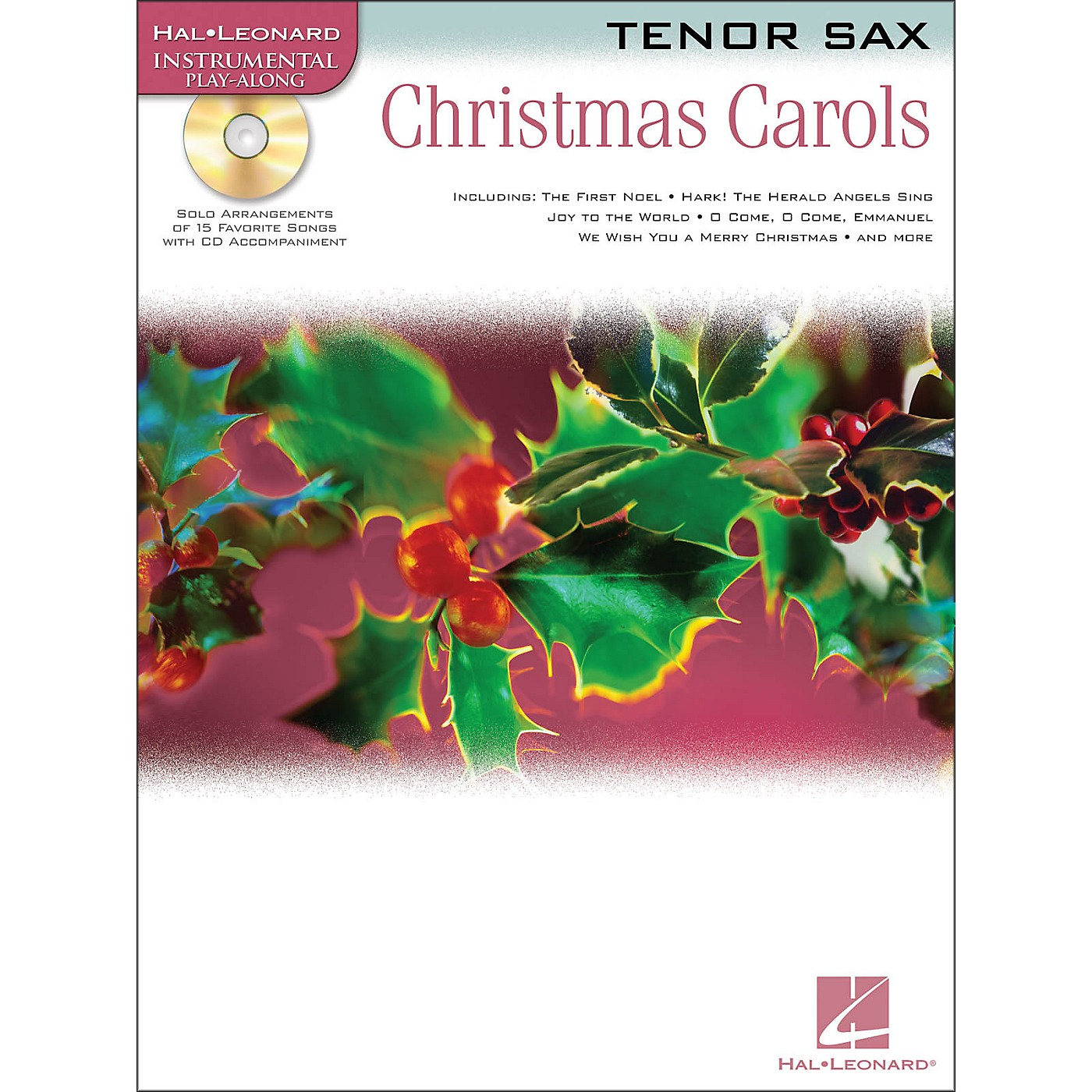 Hal Leonard Christmas Carols for Tenor Sax Book/CD thumbnail