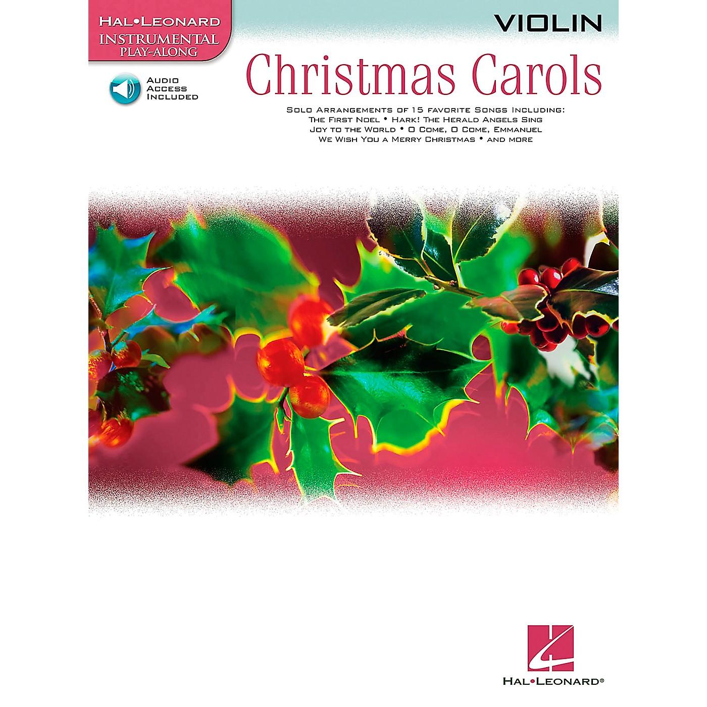Hal Leonard Christmas Carols for Violin Book/CD thumbnail