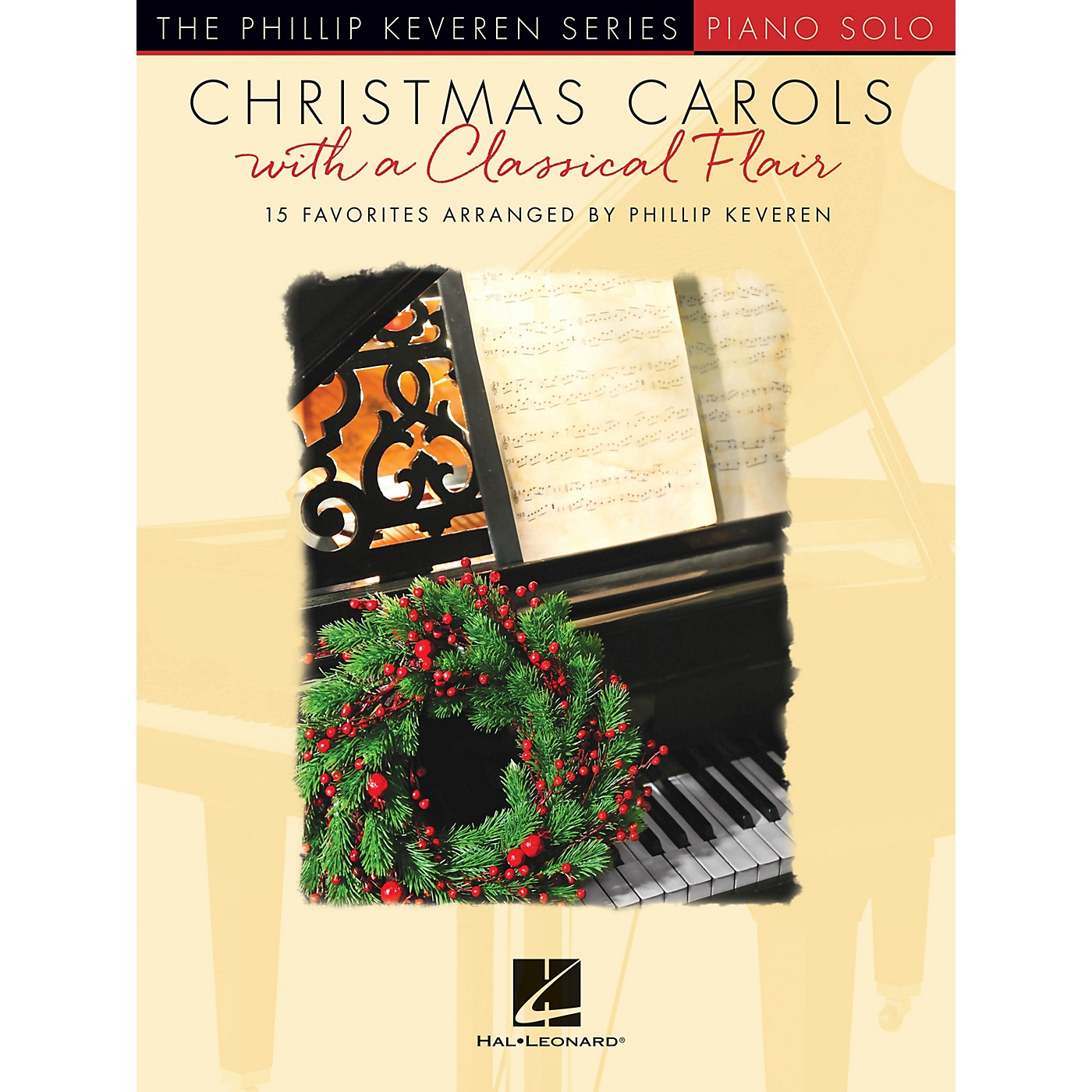 Hal Leonard Christmas Carols with a Classical Flair (The Phillip Keveren Series) Piano Solo Songbook thumbnail