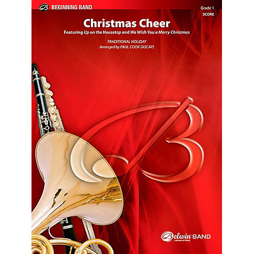 BELWIN Christmas Cheer Concert Band Grade 1 (Very Easy) thumbnail
