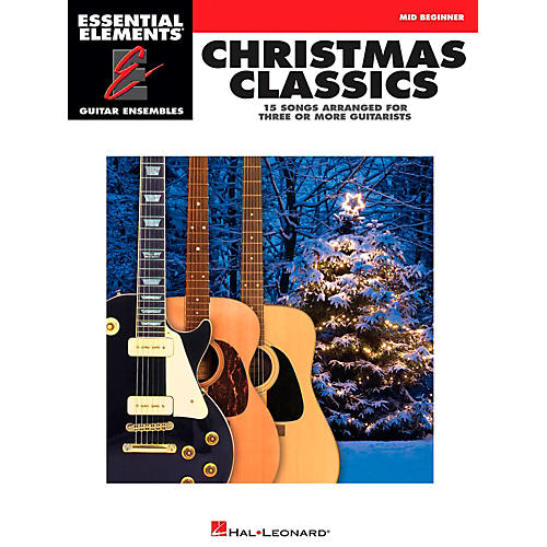 Hal Leonard Christmas Classics - Essential Elements Guitar Ensembles Series-thumbnail