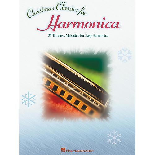 Hal Leonard Christmas Classics 25 Timeless Melodies for Easy Harmonica thumbnail