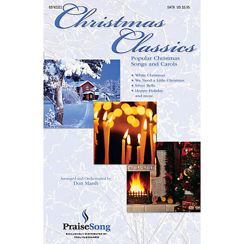 PraiseSong Christmas Classics (Collection) (Popular Christmas Classics and Carols) Preview Pak Arranged by Don Marsh thumbnail