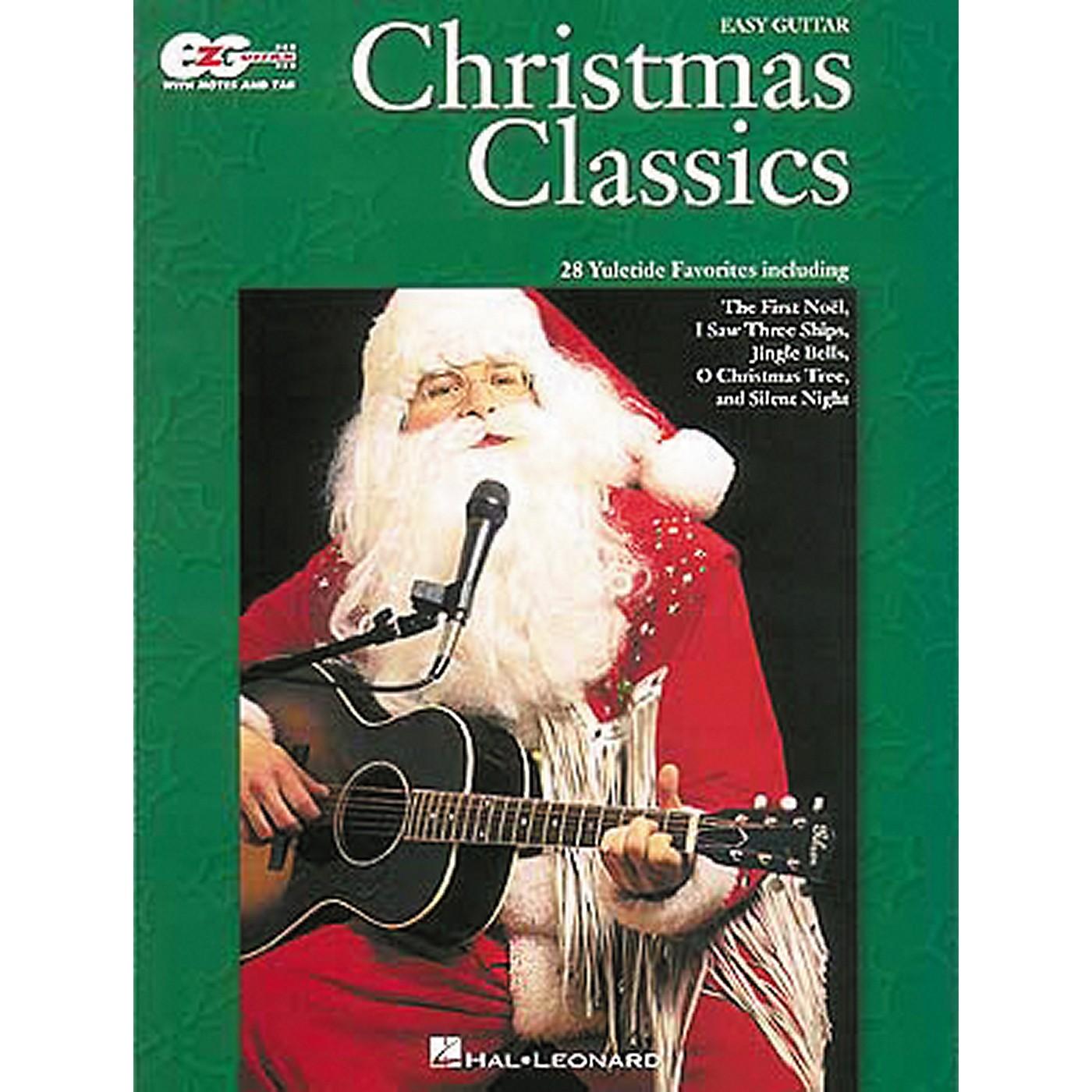 Hal Leonard Christmas Classics Easy Guitar Tab Songbook thumbnail