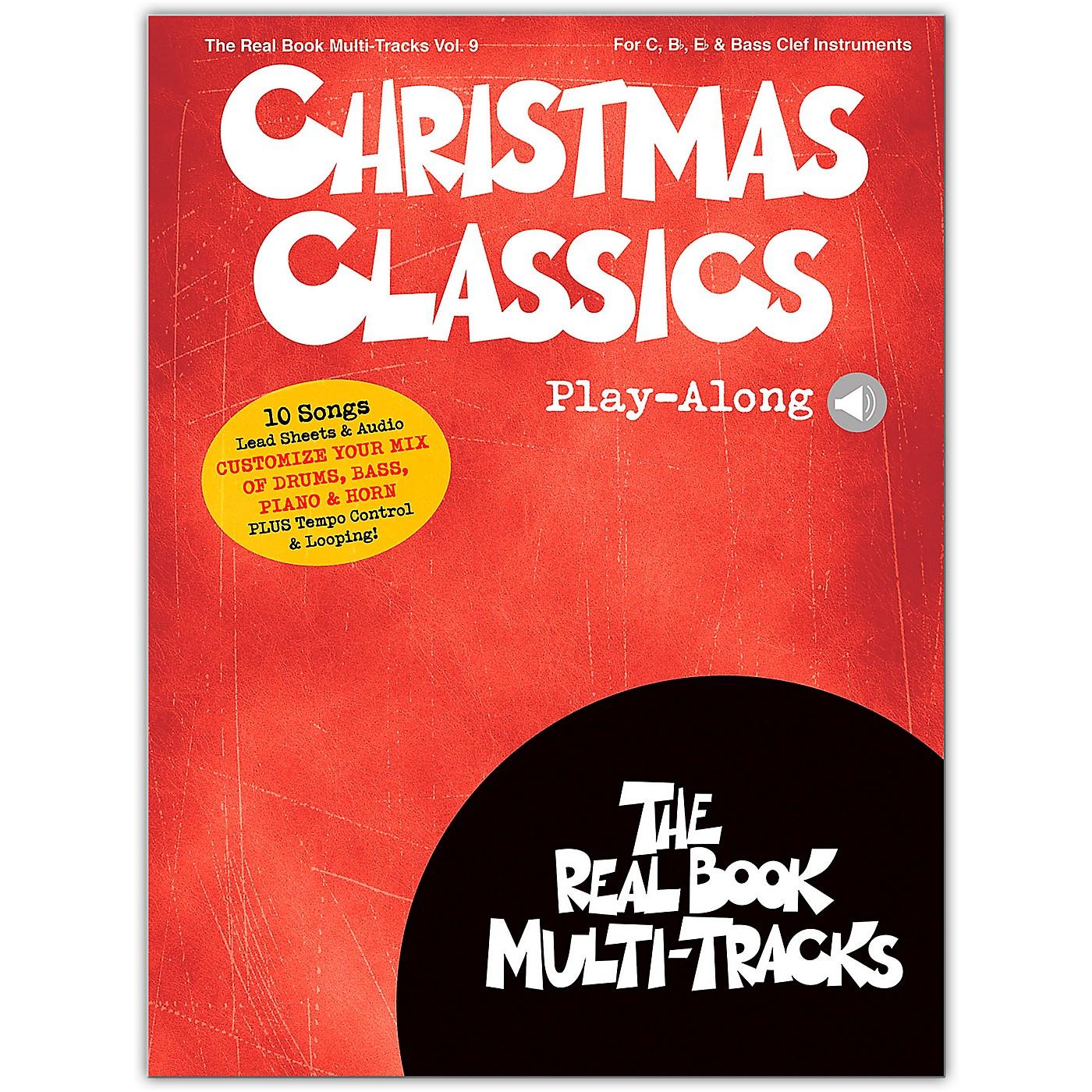 Hal Leonard Christmas Classics Play-Along Real Book Multi-Tracks Volume 9 Book/Audio Online thumbnail