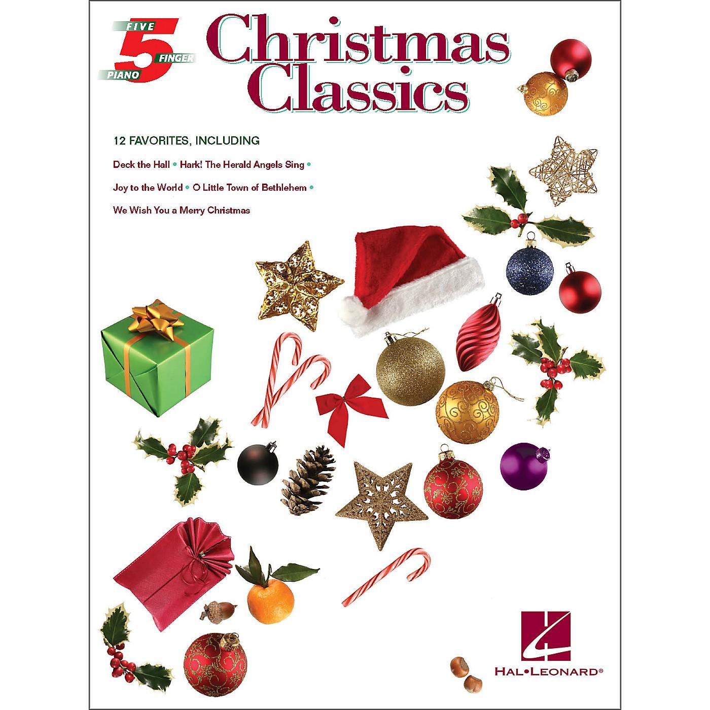 Hal Leonard Christmas Classics for Five Finger Piano thumbnail