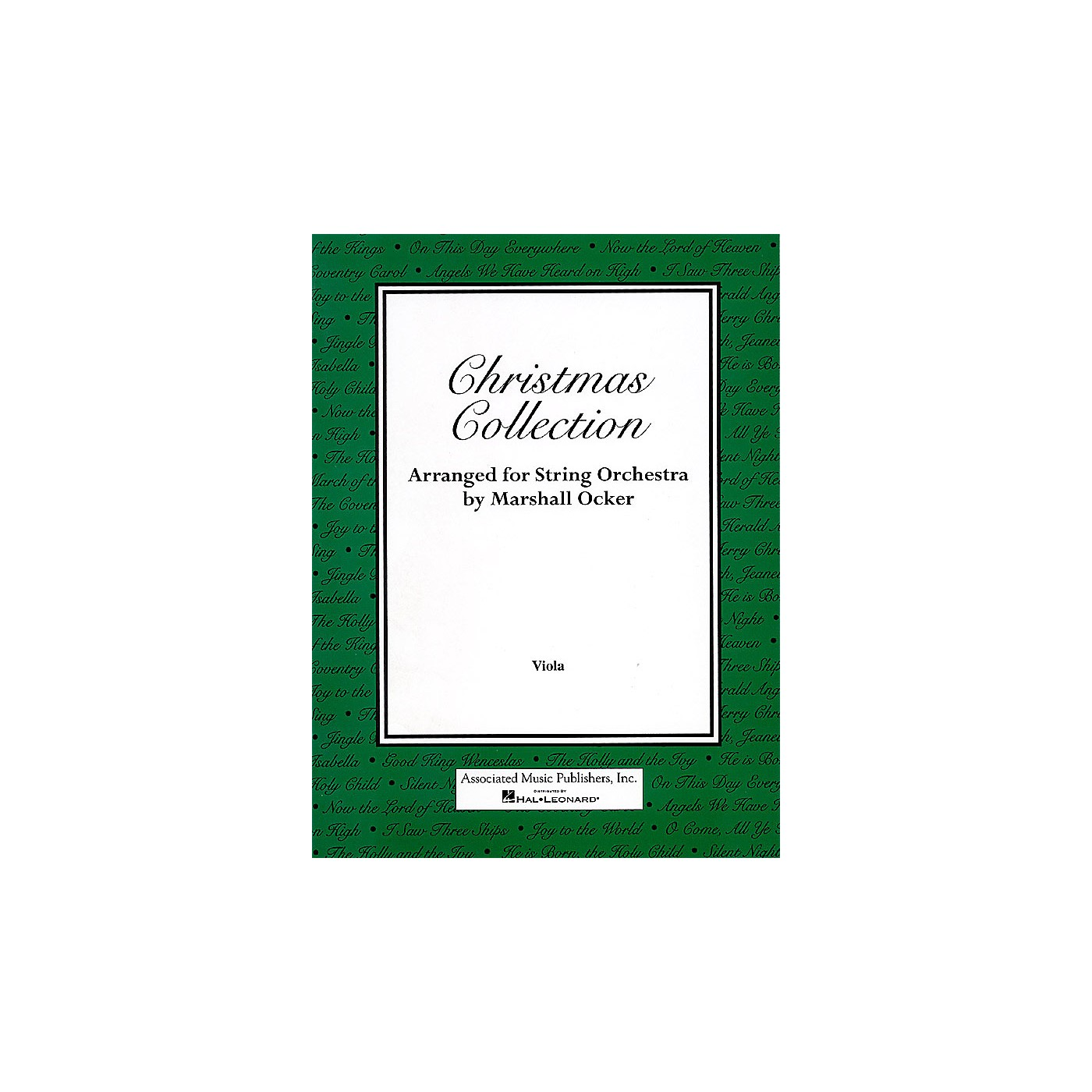 Associated Christmas Collection (Viola Part) Orchestra Series Composed by Various thumbnail